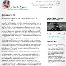 Embracing Grief