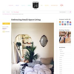 Embracing Small-Space Living