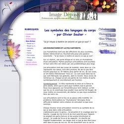 Les symboles des langages du corps - par Olivier Soulier -, Embriologie - Formations aux décodages symboliques -