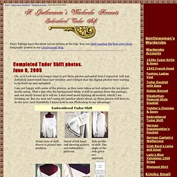 Embroidered Tudor Shift - Warderobe Accounts - www.kimiko1.com