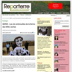 REPORTERRE 07/01/14 SERIE - Les dix embrouilles de la ferme des Mille vaches