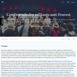 L'embuscade des militants anti-Fourest (with images, tweets) · ArianeBeldi