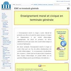 EMC en terminale générale