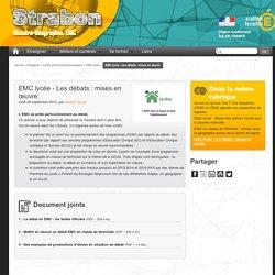 EMC lycée - Les débats : mises en œuvre.