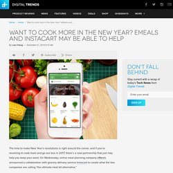 eMeals Partners with Instacart to Help You Cook at Home