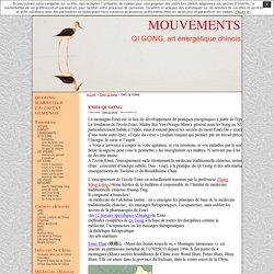 EMEI QI GONG · MOUVEMENTS