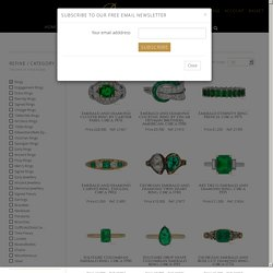 Emerald Antique & Vintage Rings