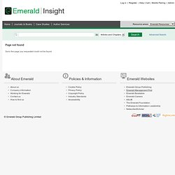 Research Zone | Emerald Research Connections