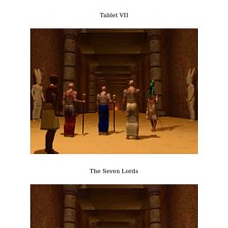 The Emerald Tablets of Thoth Tablet VII - The Seven Lords