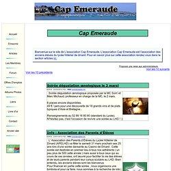 Cap Emeraude : Association des anciens élèves du Lycée Hotelier de Dinard