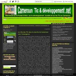 Le rôle des TIC dans la marche du Cameroun vers l'émergence - Cameroun -Tic & développement.net