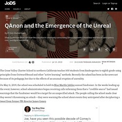 QAnon and the Emergence of the Unreal · Journal of Design and Science