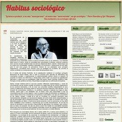 Sousa Santos: Hacia una sociología de las ausencias y de las emergencias