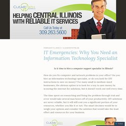 information technology specialist Illinois