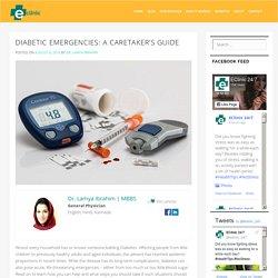 Diabetic Emergencies: A Caretaker's Guide