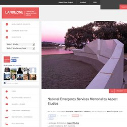 National Emergency Services Memorial by Aspect Studios