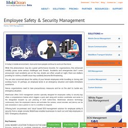 Employee Safety & Security Management Solution - Mobiocean.com