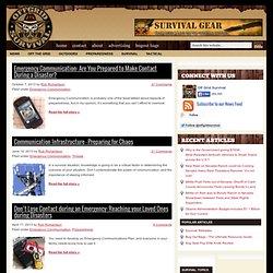 Emergency Communication & Ham Radio