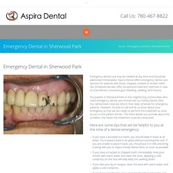 Emergency Dental in Sherwood Park