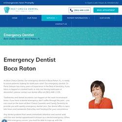 Emergency Dentist Boca Raton