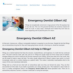 Visit 24/7 Emergency dentist Gilbert AZ