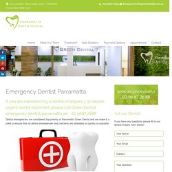 Experienced Emergency Dentist in Parramatta