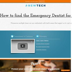 How to find the Emergency Dentist for your extreme needy Situations?