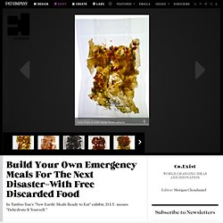 Build Your Own Emergency Meals For The Next Disaster