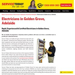 Emergency Golden Grove Electrician