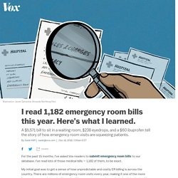 Emergency room bills: what I learned from reading 1,182 ER bills