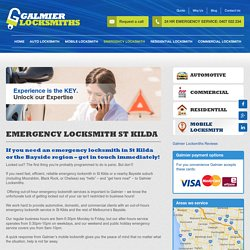 Emergency Locksmith St Kilda, Bayside and Melbourne Eastern Suburbs