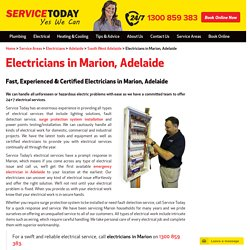 Emergency Marion Electrician