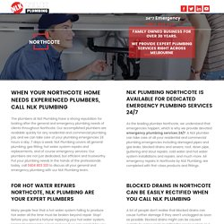 Emergency Plumber Service in Northcote