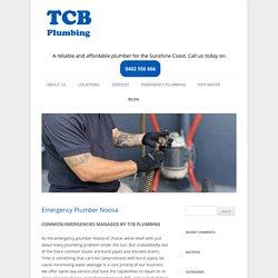 Emergency Plumber Noosa