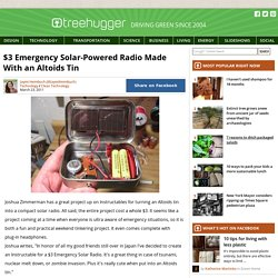 $3 Emergency Solar-Powered Radio Made With an Altoids Tin