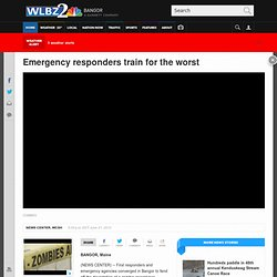 Emergency responders train for the worst