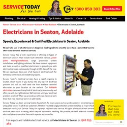 Certified Electricians in Seaton, Adelaide