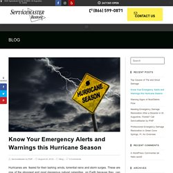 Know Your Emergency Alerts and Warnings this Hurricane Season