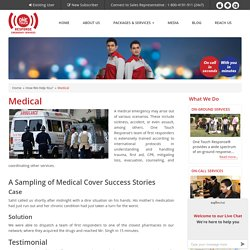Emergency Medical Services, Medical Situation Help & Care - OTR