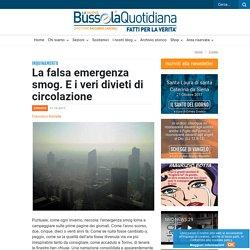 La falsa emergenza smog. E i veri divieti di circolazione
