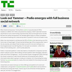 Look out Yammer – Podio emerges with full business social network