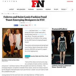 Caleres and Saint Louis Fashion Fund Honor Emerging Designers