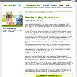 The Emerging Fourth Sector - FourthSector.net