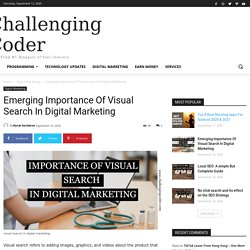 Emerging Importance Of Visual Search In Digital Marketing -