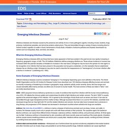 ENY-740/IN722: Emerging Infectious Diseases
