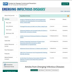 CDC EID - AOUT 2011 - Cowpox Virus in Llama, Italy