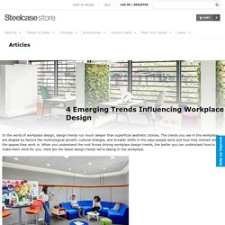 4 Emerging Trends Influencing Workplace Design