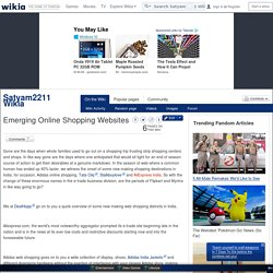 Emerging Online Shopping Websites - Satyam2211 Wikia - Wikia
