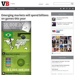 Emerging markets will spend billions on games this year