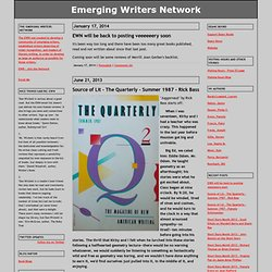 Emerging Writers Network